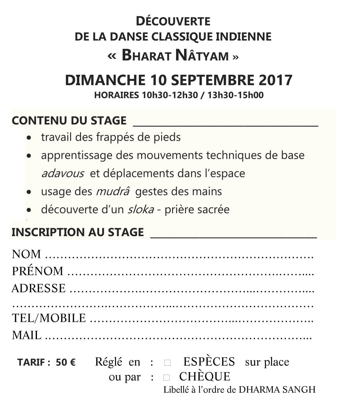 STAGE BHARAT NATYAM 2017 BI POUR SITE