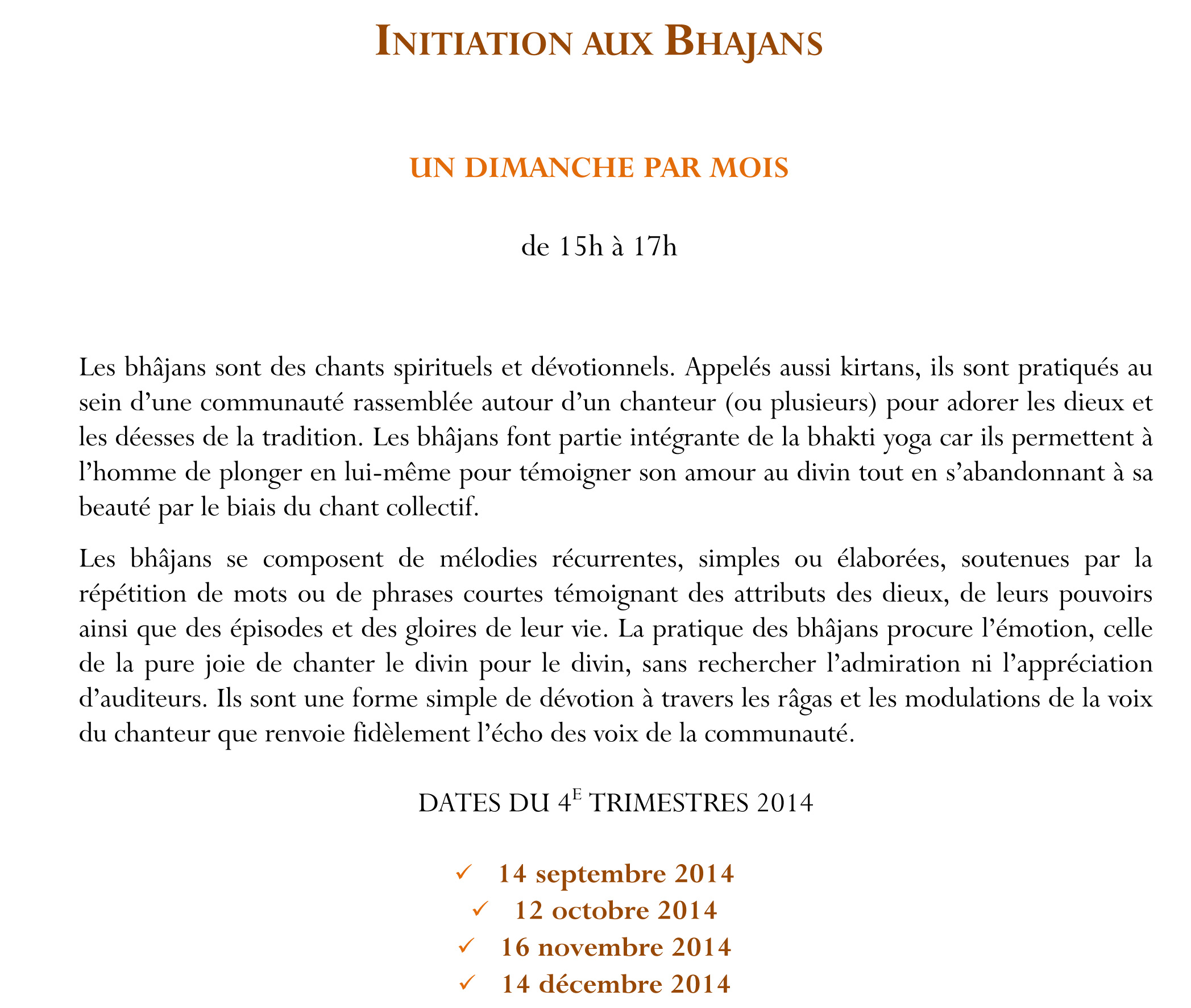 flyer 2015 INITIATIONS BHAJANS POUR SITE