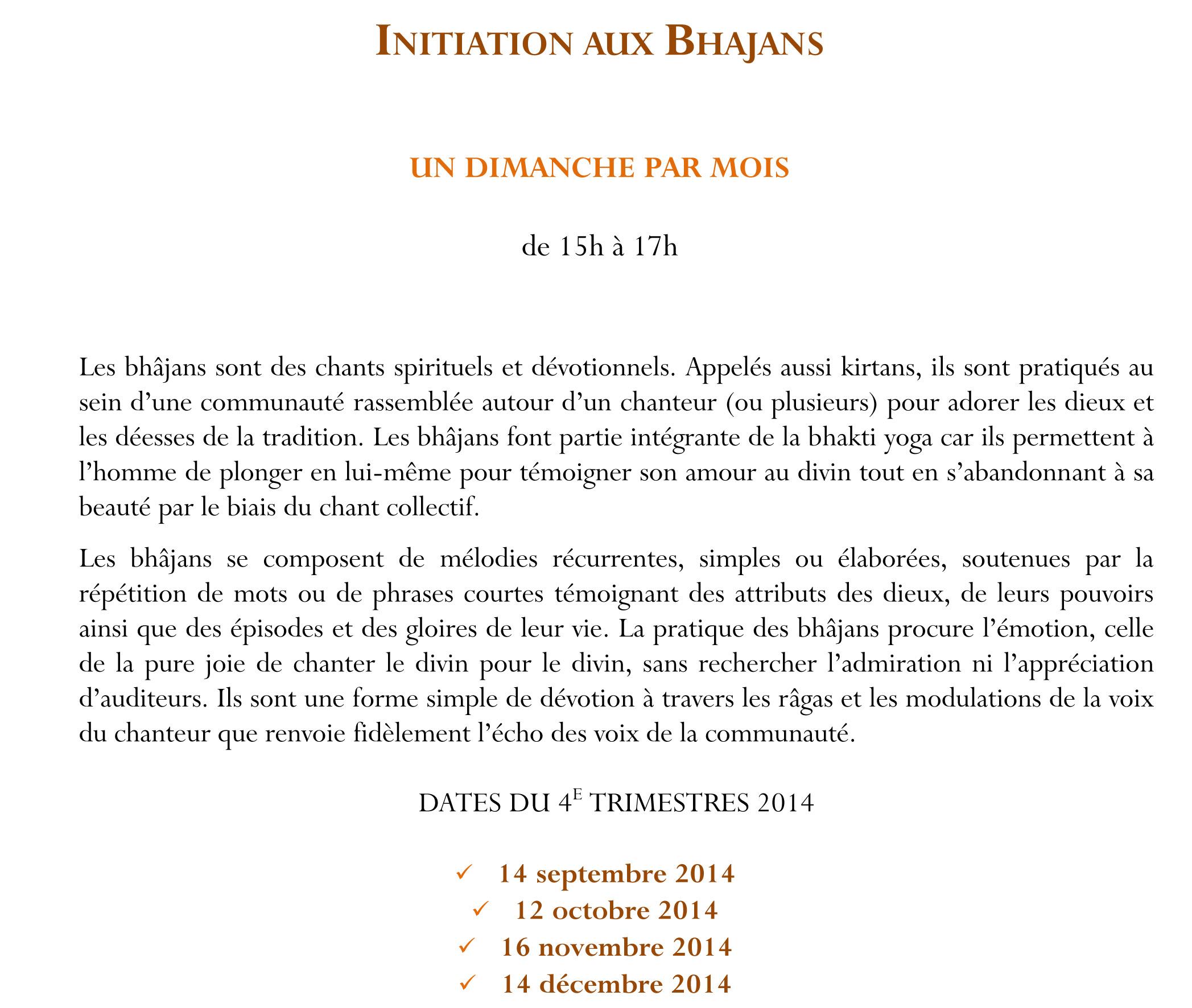 flyer 2015 INITIATIONS BHAJANS POUR SITE