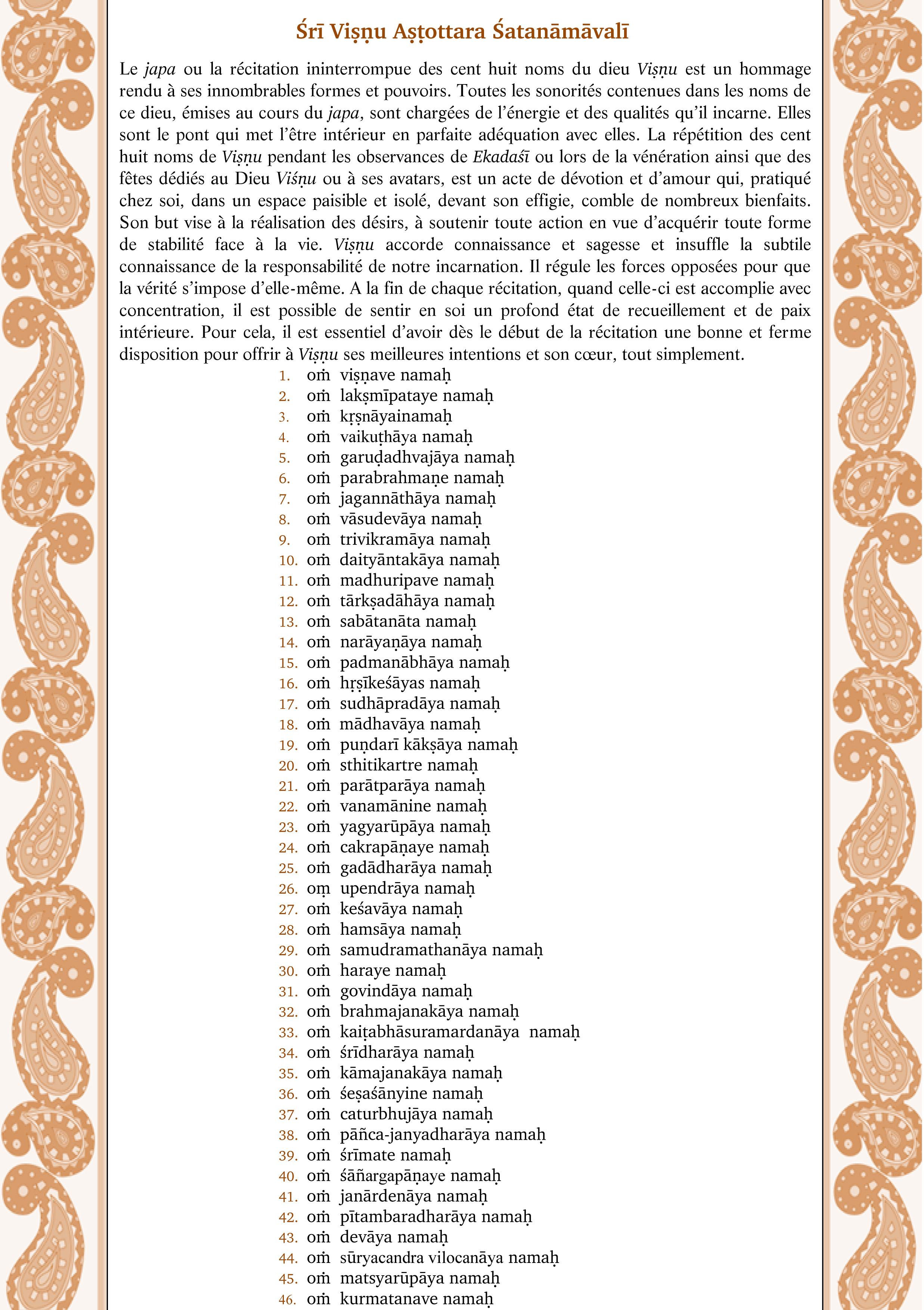 108 noms de Vishnu-1