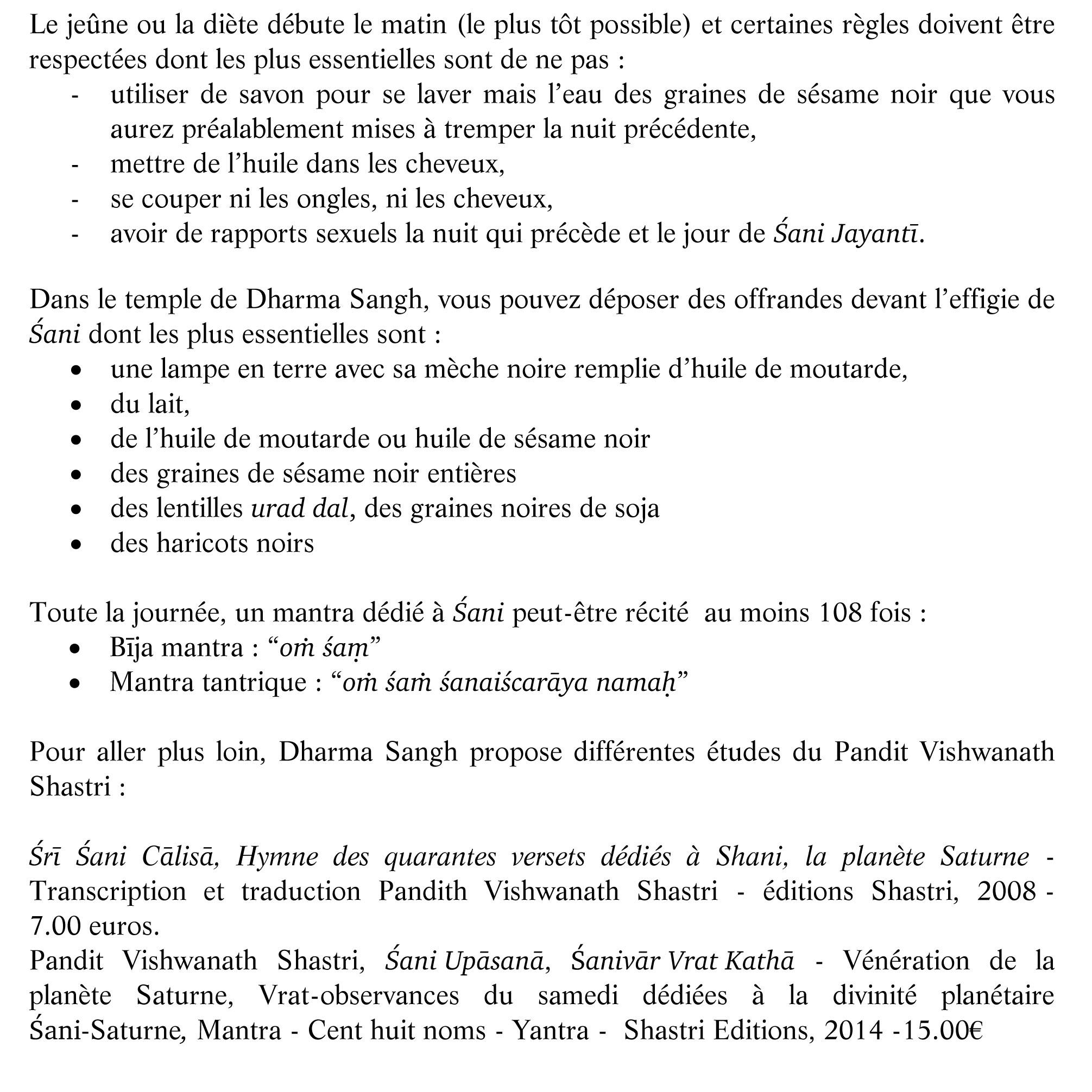 SHANI JAYANTI pour site  face book-2
