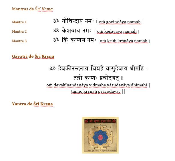mantra de Krishna