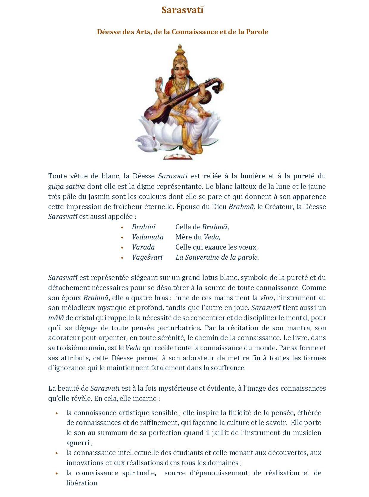 DESCRIPTIF SARASVATI ET VASANT PANCAMI SITE-page-001